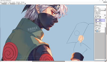 Kakashi-Wip by eagleDB