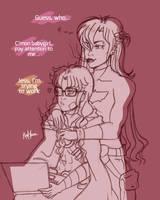 JayTim (genderbend) sketch by YamiMana