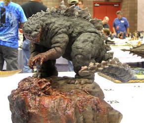 Godzilla by MosesJaen