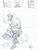 Hellboy by MosesJaen