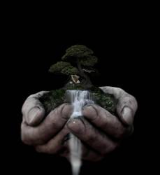 In Gods Hands by Tourash