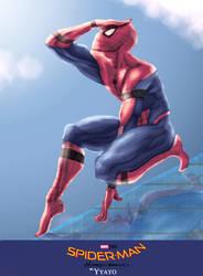 Spiderman Homecoming 2017 by Yayometro