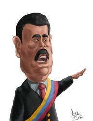 Nicolas Maduro by Yayometro