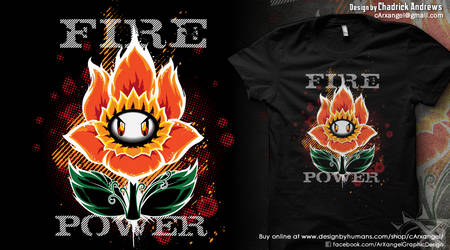 [Shirt] Fire Power by cArxangel