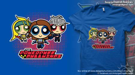 [Shirt] The Powerpuff Gullwings by cArxangel