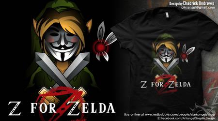 [Shirt] Z for Zelda by cArxangel