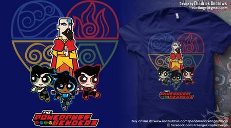 [Shirt] The Powerpuff Benders v2 by cArxangel