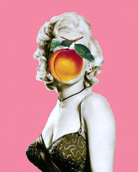 Magritte-Warhol-Marilyn by cometomorrow