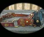 Gypsy Steampunk Goggles by mantisred