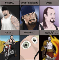 Taker Vs Style Meme by RipperBlackstaff