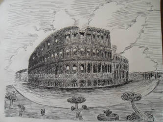Coliseum by kimzack