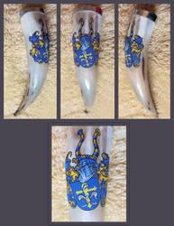 Drinking Horn Lily Emblem by cornum
