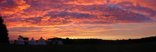 medieval sunrise by cornum