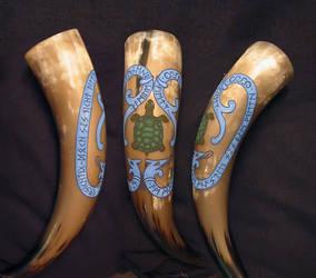 Drinking Horn: Family Fietz by cornum