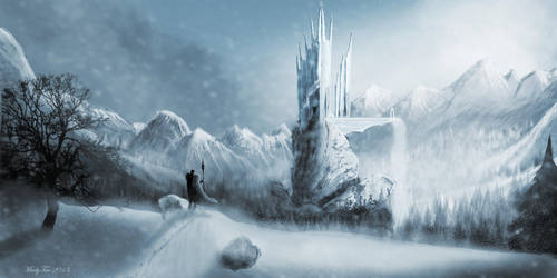 Lysandre, la citadelle de glace. by Madytao