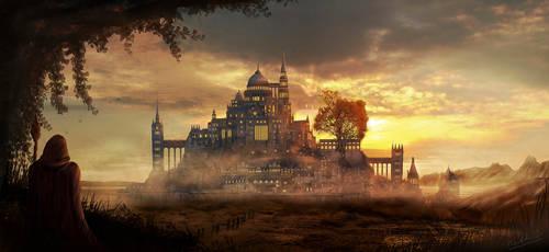 Fantasy Castle by Madytao
