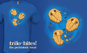 Trilo-bites - t-shirt by InfinityWave