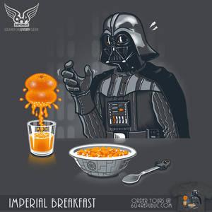 Imperial Breakfast - tee by InfinityWave