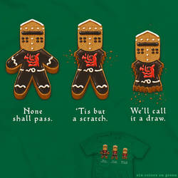 Gingerbread Knight - tee by InfinityWave