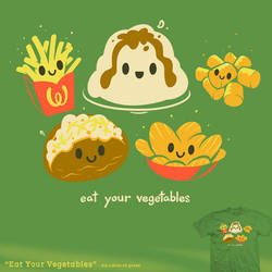 Eat Your Vegetables - tee by InfinityWave