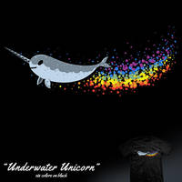 Underwater Unicorn - tee by InfinityWave