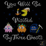 You Will Be Visited By Three Ghosts - tee by InfinityWave