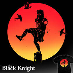 The Black Knight - tee by InfinityWave