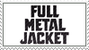 Full Metal Jacket stamp by 5-3-10-4