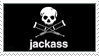 Jackass stamp by 5-3-10-4