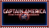 Captain America stamp by 5-3-10-4