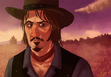RDR - 'Remember the name Marston?' by Shaiger