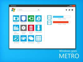 Windows Metro - Main Explorer by ukiyodistrict