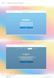 iOS 7 inspired web browser by ukiyodistrict