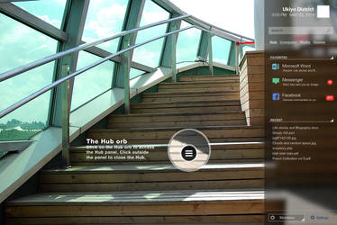 Some OS - Hub panel by ukiyodistrict
