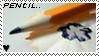 Pencil stamp by Calweena