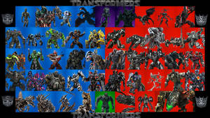 Transformers Cinematic Universe Character board by The-Dark-Mamba-995