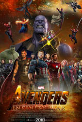 Avengers: Infinity War Poster concept by The-Dark-Mamba-995