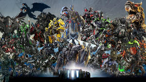Transformers Cinematic Universe Wallpaper by The-Dark-Mamba-995