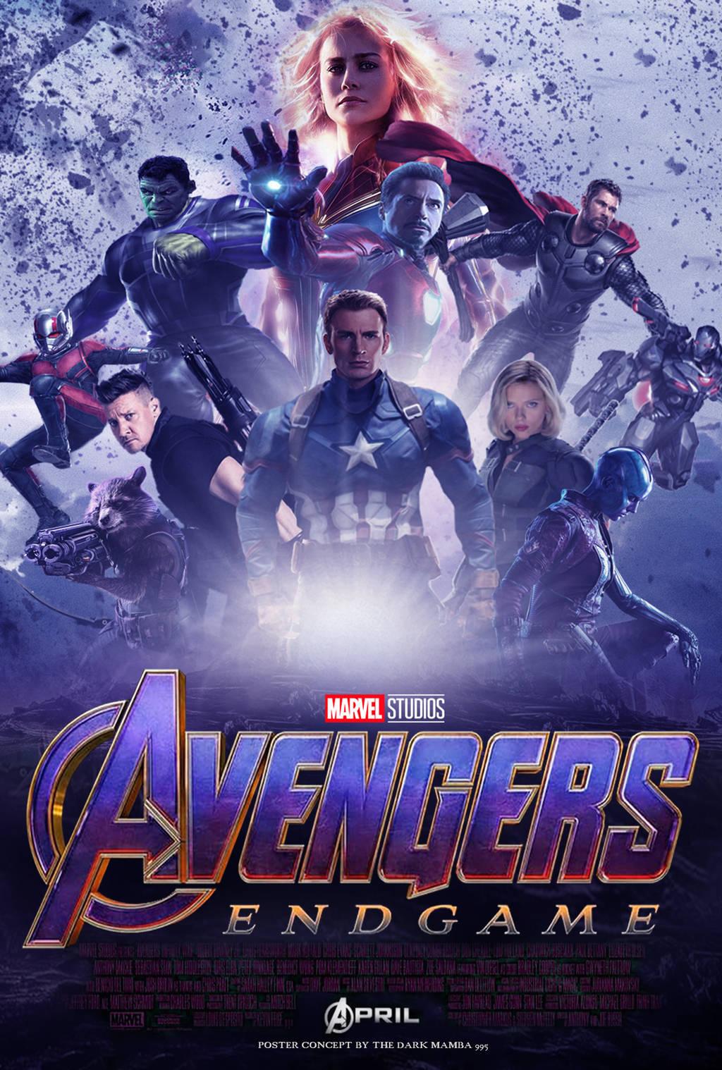 Full Hd Avengers Endgame Poster