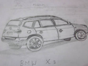 BMW X3 by rajaahcs