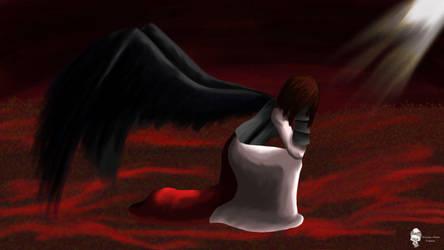Angel of war by Juliusz-Cezar-Tupacz