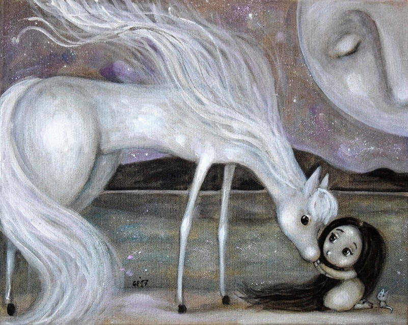 Daughter of the Moon by Grzegorz Ptak by GrzegorzPtakArt
