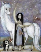 Hour of the Nightingale by Grzegorz Ptak by GrzegorzPtakArt