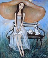 Alice in Wonderland by Grzegorz Ptak by GrzegorzPtakArt