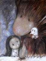 The song of good spirits by Grzegorz Ptak by GrzegorzPtakArt