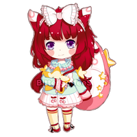 [CM] Marielle Simple Chibi by bitter--coffee