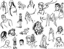 Sketches no. 3 by oginmysoul