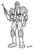 DSC Judge Dredd by oginmysoul