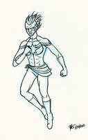 DSC Captain Marvel by oginmysoul