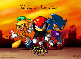 The boys are back in town by DNH2031ART